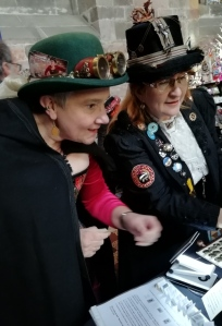 customers at Steampunk-Shrunk